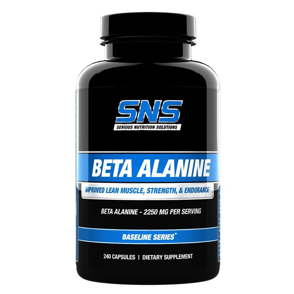 Serious Nutrition Solutions Beta Alanine 240 Caps Sport Performance / Recovery Serious Nutrition Solutions  (1058665562155)