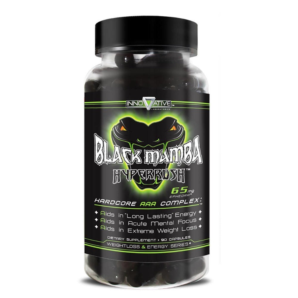 Innovative Diet Labs Black Mamba 90 Caps Diet/Energy Innovative Labs  (1059064086571)