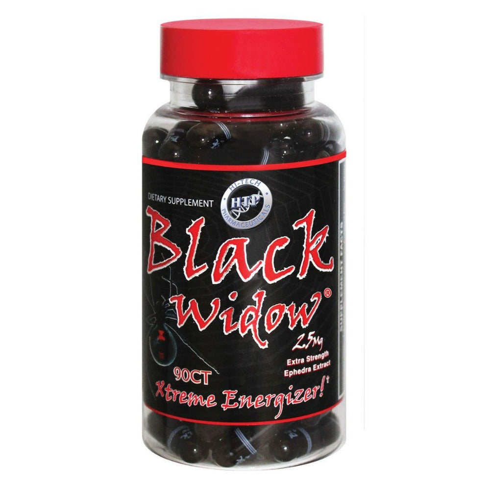 Hi-Tech Pharmaceuticals Black Widow 90 Tabs w/ Ephedra Diet/Energy Hi-Tech Pharmaceuticals  (1059071393835)