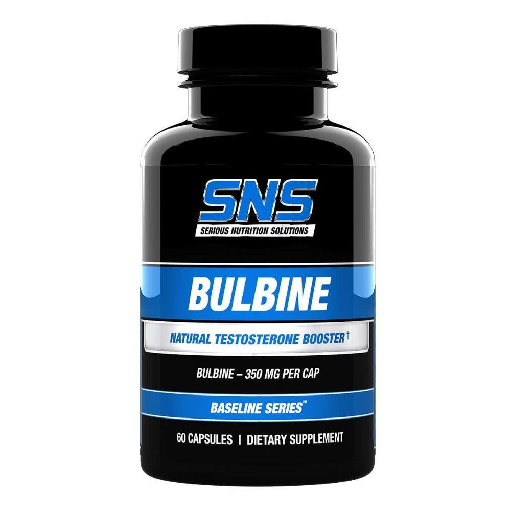 Serious Nutrition Solutions Bulbine 60 Caps Testosterone Boosters Serious Nutrition Solutions  (1059042033707)
