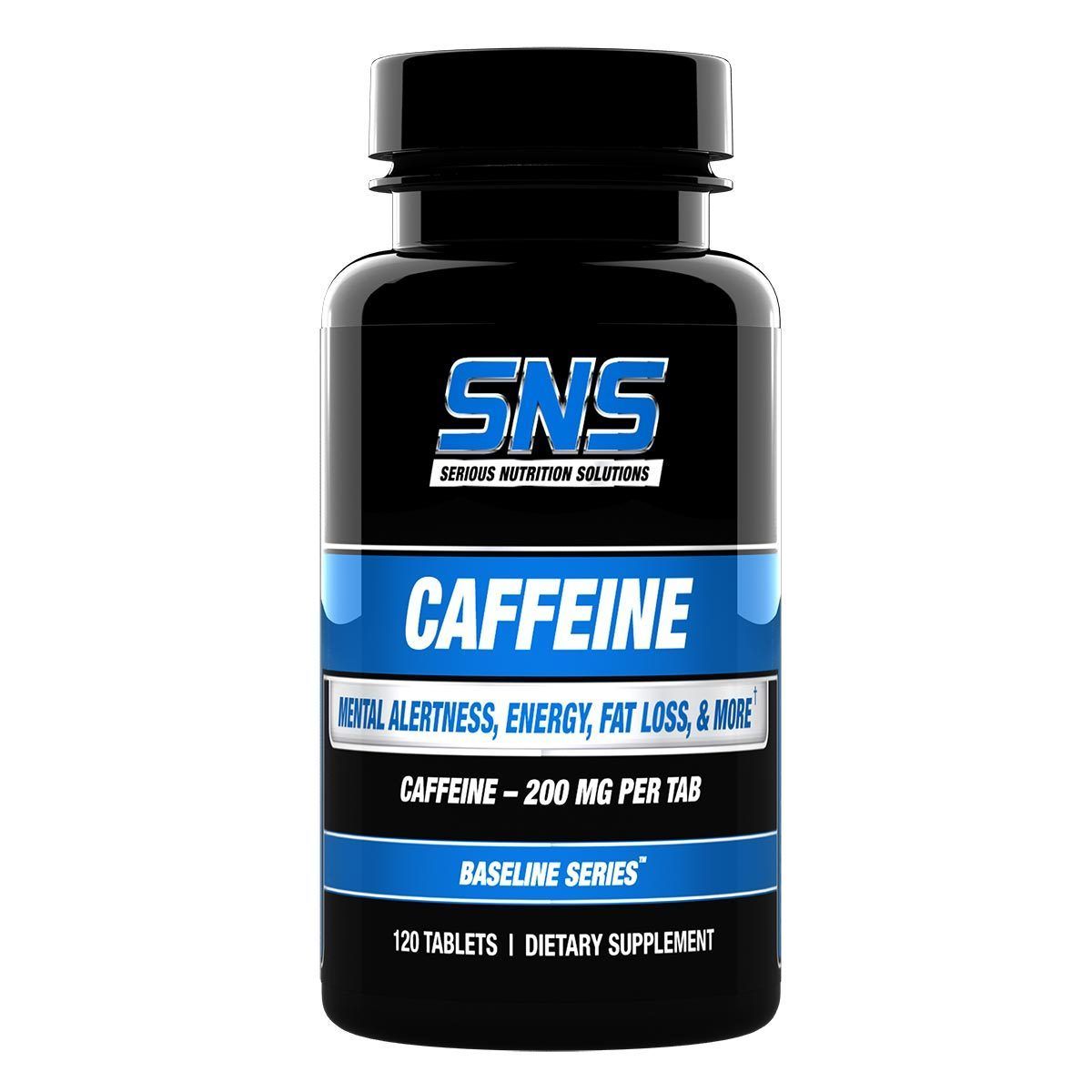 Serious Nutrition Solutions Caffeine 120 Tabs Diet/Energy Serious Nutrition Solutions  (1059041443883)