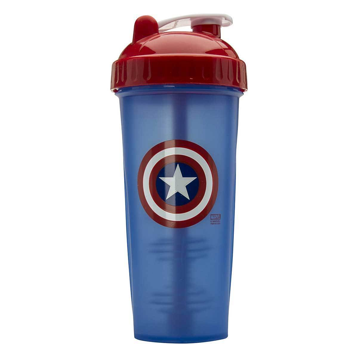 Captain America Shaker Bottle 28oz Fitness Accessories and Apparel PerfectShaker  (1059261349931)