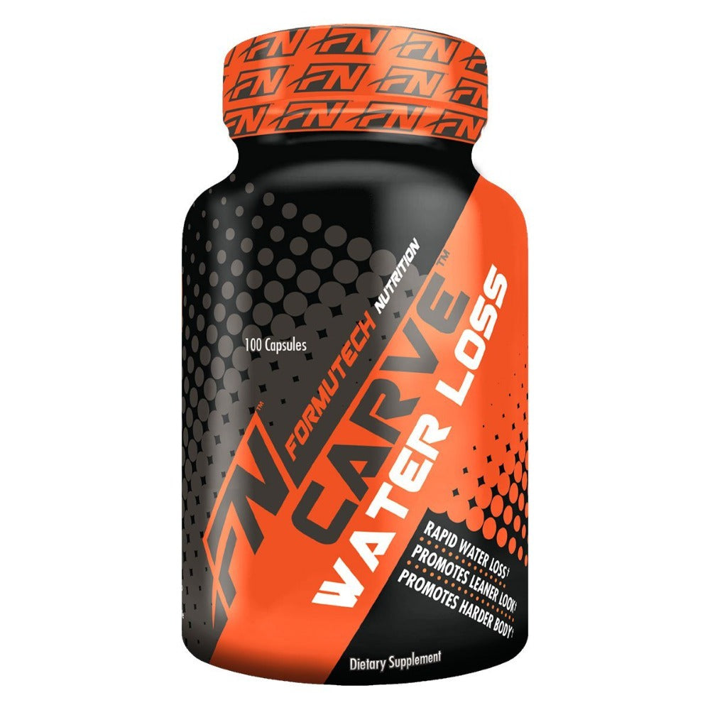 Formutech Nutrition Carve Water Loss 100 Caps Diet/Energy Formutech Nutrition  (1058877243435)