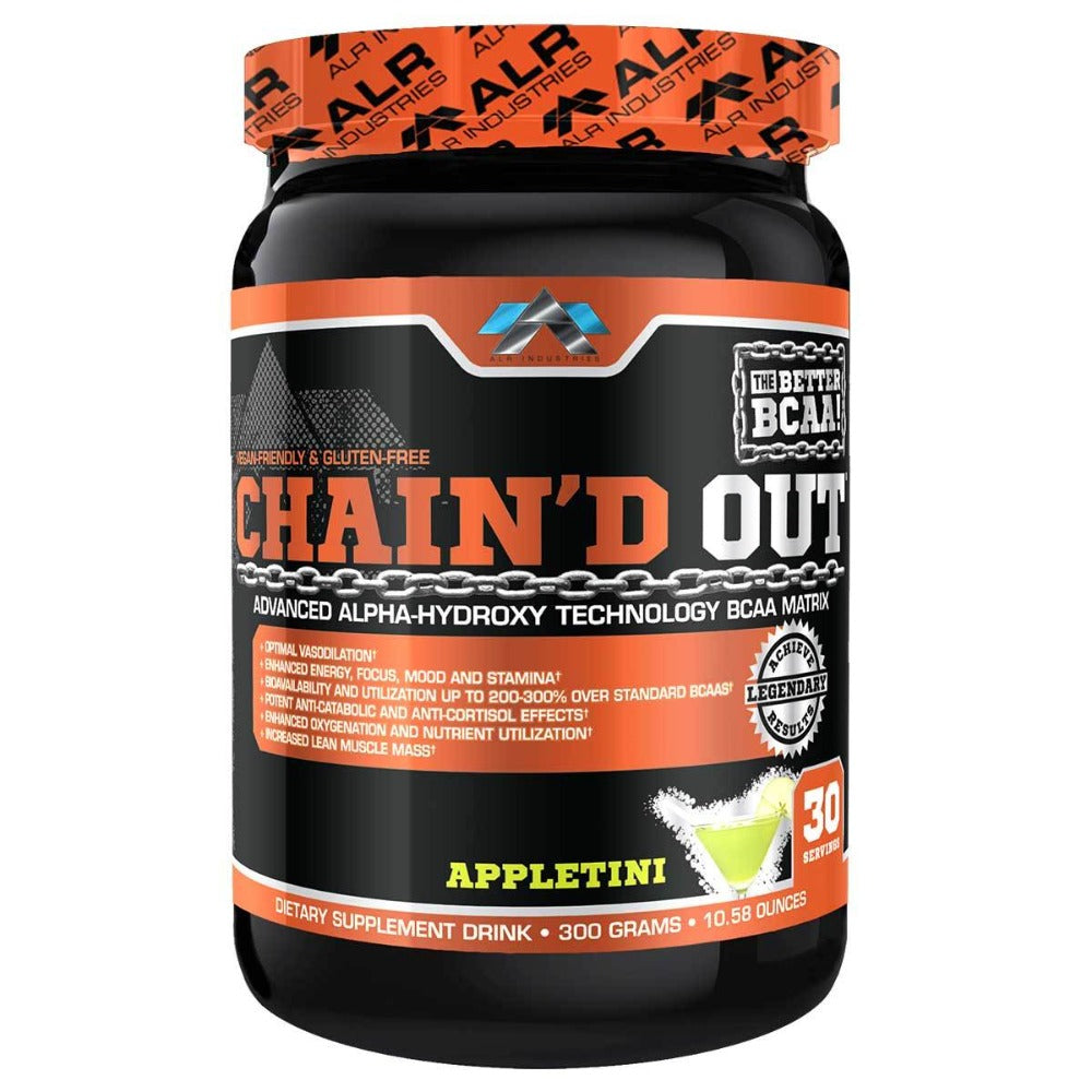 ALRI (ALR Industries) Chain'd Out 30 Servings Amino Acids ALRI (ALR Industries) Appletini  (1059273441323)