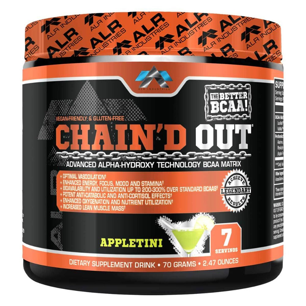 ALRI (ALR Industries) Chain'd Out 7 Servings Amino Acids ALRI (ALR Industries) Apple Tini  (1059329900587)