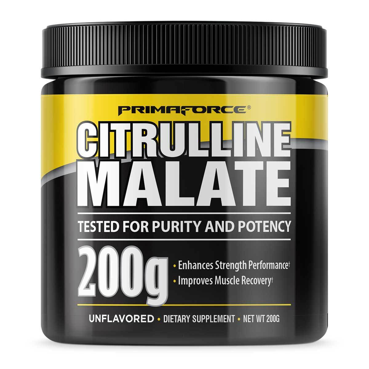 Citrulline Malate 200 Grams by PrimaForce Sport Performance / Recovery PrimaForce  (1058210152491)