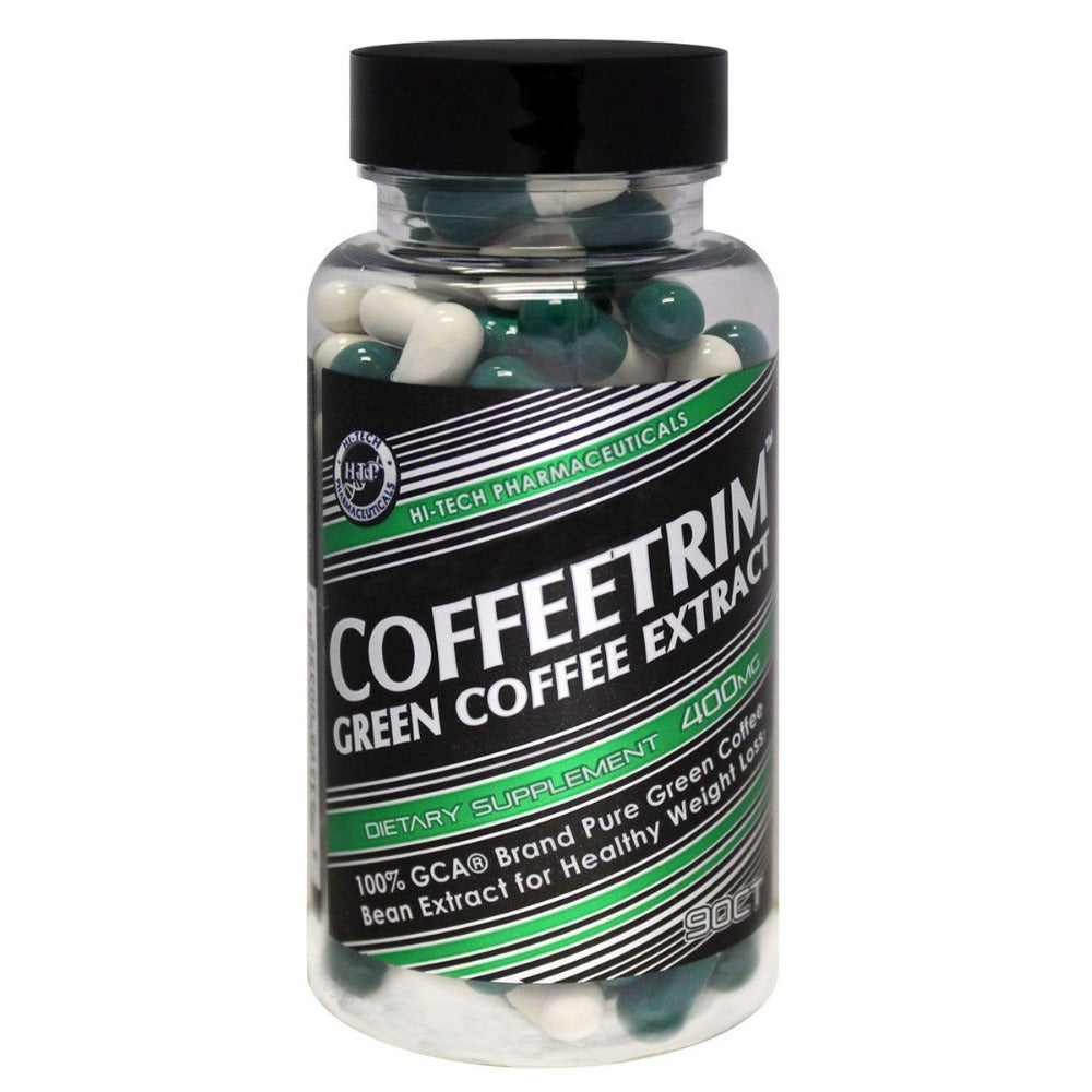 Hi-Tech Pharmaceuticals CoffeeTrim Green Coffee Extract 90 Capsules - 400mg Diet/Energy Hi-Tech Pharmaceuticals  (1058925740075)