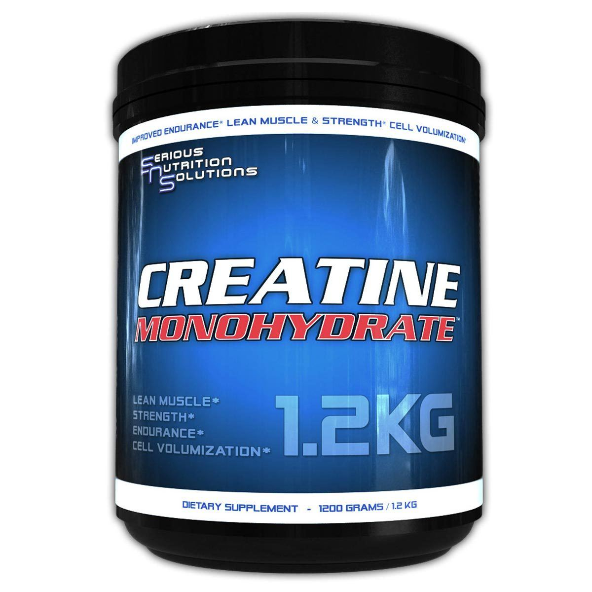 Serious Nutrition Solutions Creatine Monohydrate 1200 Grams Creatine Serious Nutrition Solutions  (1059042394155)