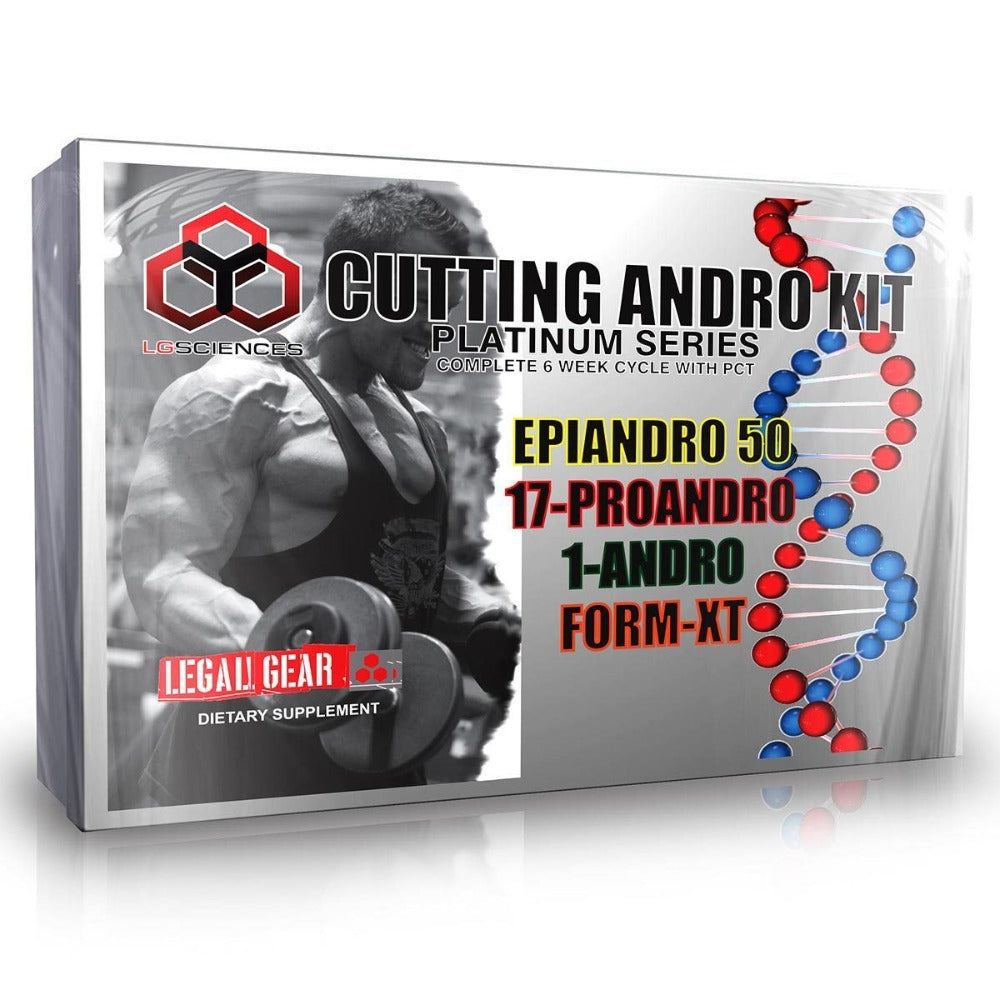 LG Sciences Cutting Andro Kit Prohormones, Andro & Support LG Sciences  (1059090890795)