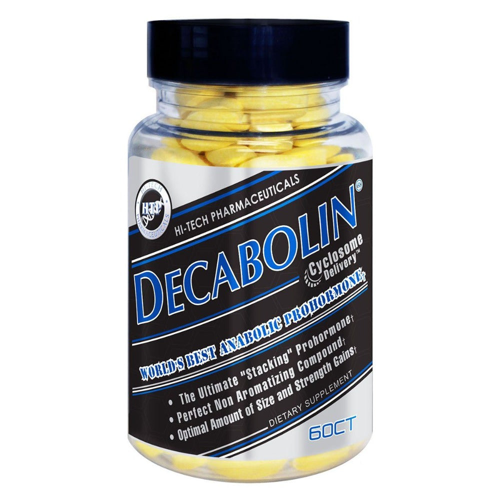 Hi-Tech Pharmaceuticals Decabolin 19-Nor Andro 60CT Testosterone Boosters Hi-Tech Pharmaceuticals  (1059255189547)