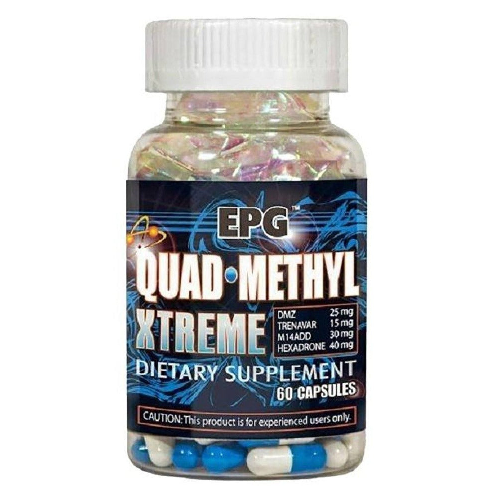 EPG Quad Methyl Xtreme 60 Caps Discontinued EPG  (1059073130539)