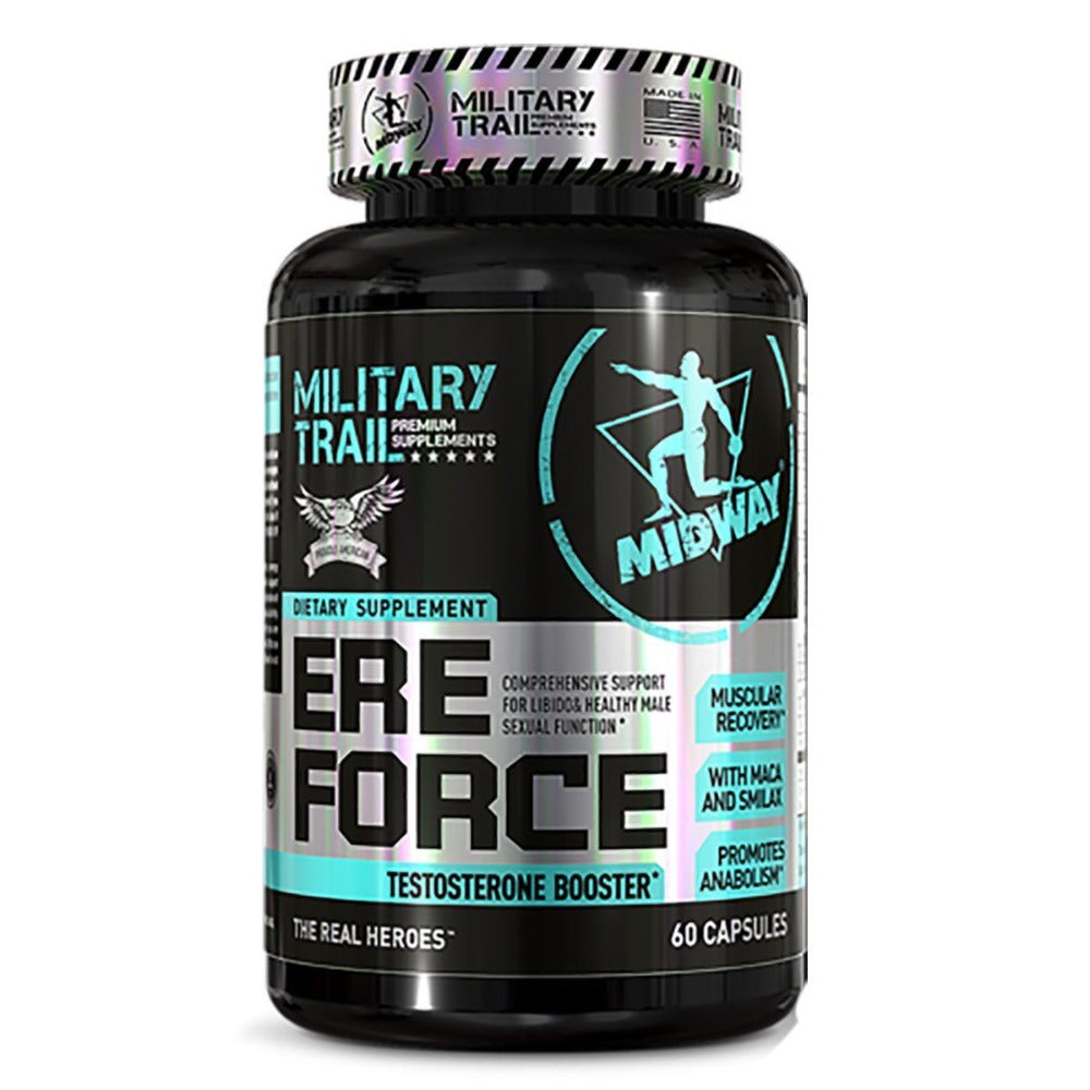 MILITARY TRAIL EREFORCE 60 CAPS Testosterone Boosters Military Trail  (1205103689771)