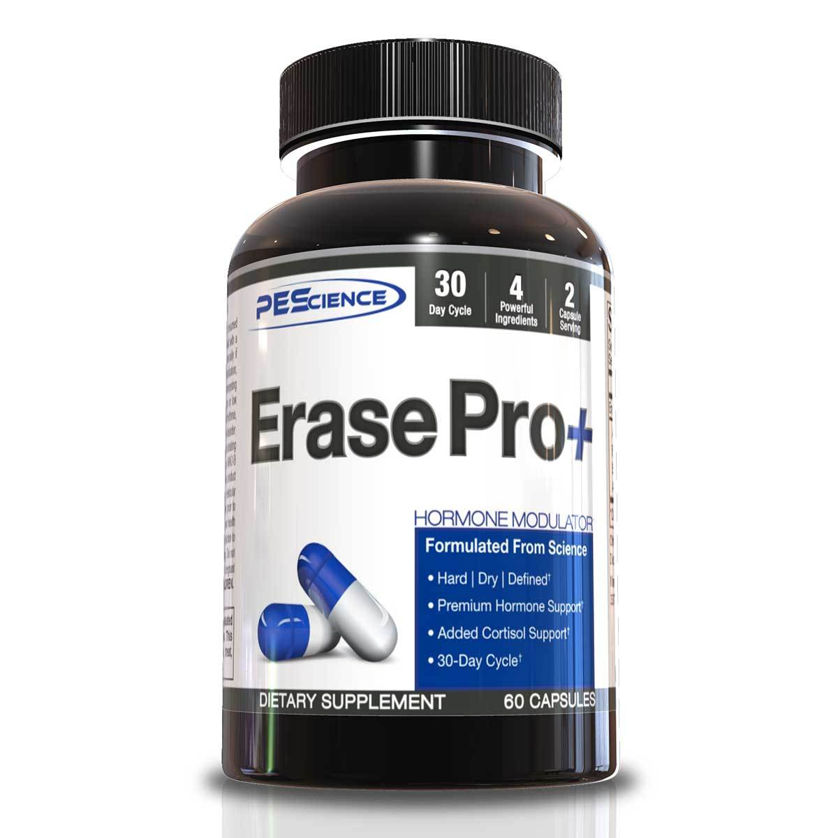 PEScience Erase Pro Plus 60 Caps Testosterone Boosters PEScience  (1058728214571)