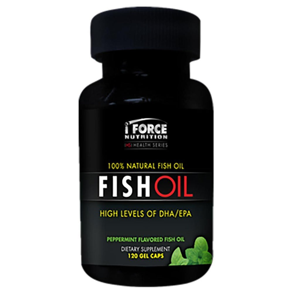 Omega-3 Fish Oil by iFORCE Omega Fatty Acids / EFAs IFORCE  (1058721005611)
