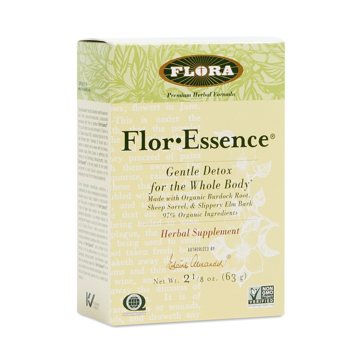 Flora (Udo's Choice) Flor-Essence Tea 2.2oz Powder Teas Flora (Udo's Choice)  (1057939324971)