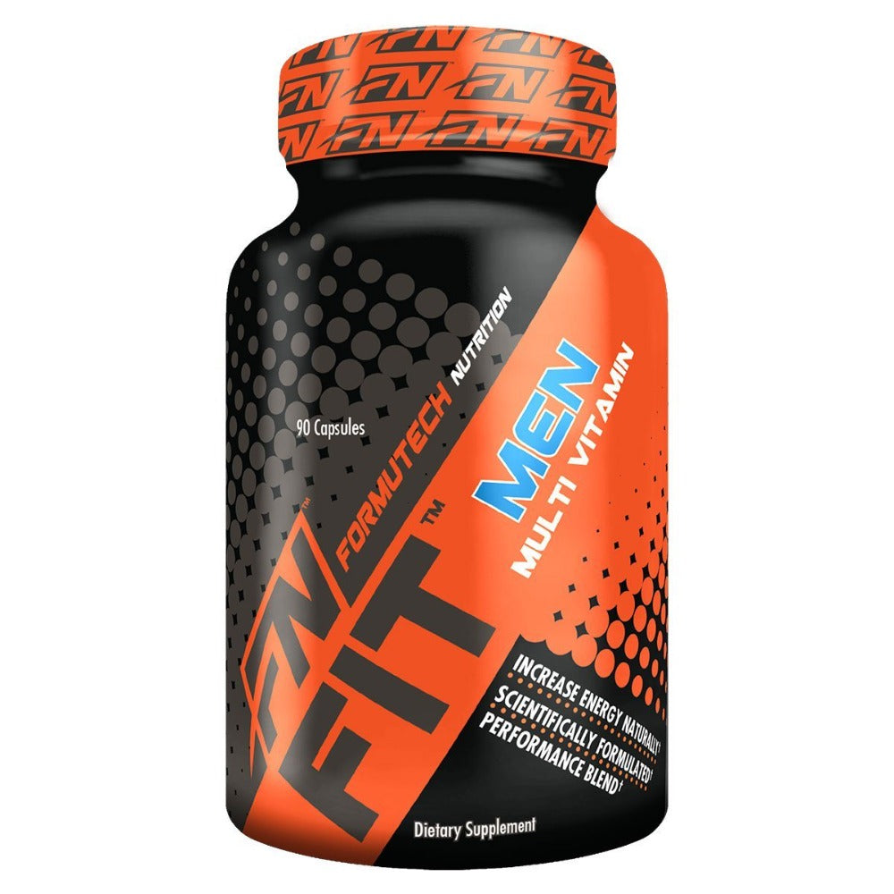 Formutech Nutrition Fit Men's Multi-Vitamin 90 Caps Vitamins Formutech Nutrition  (1058877571115)