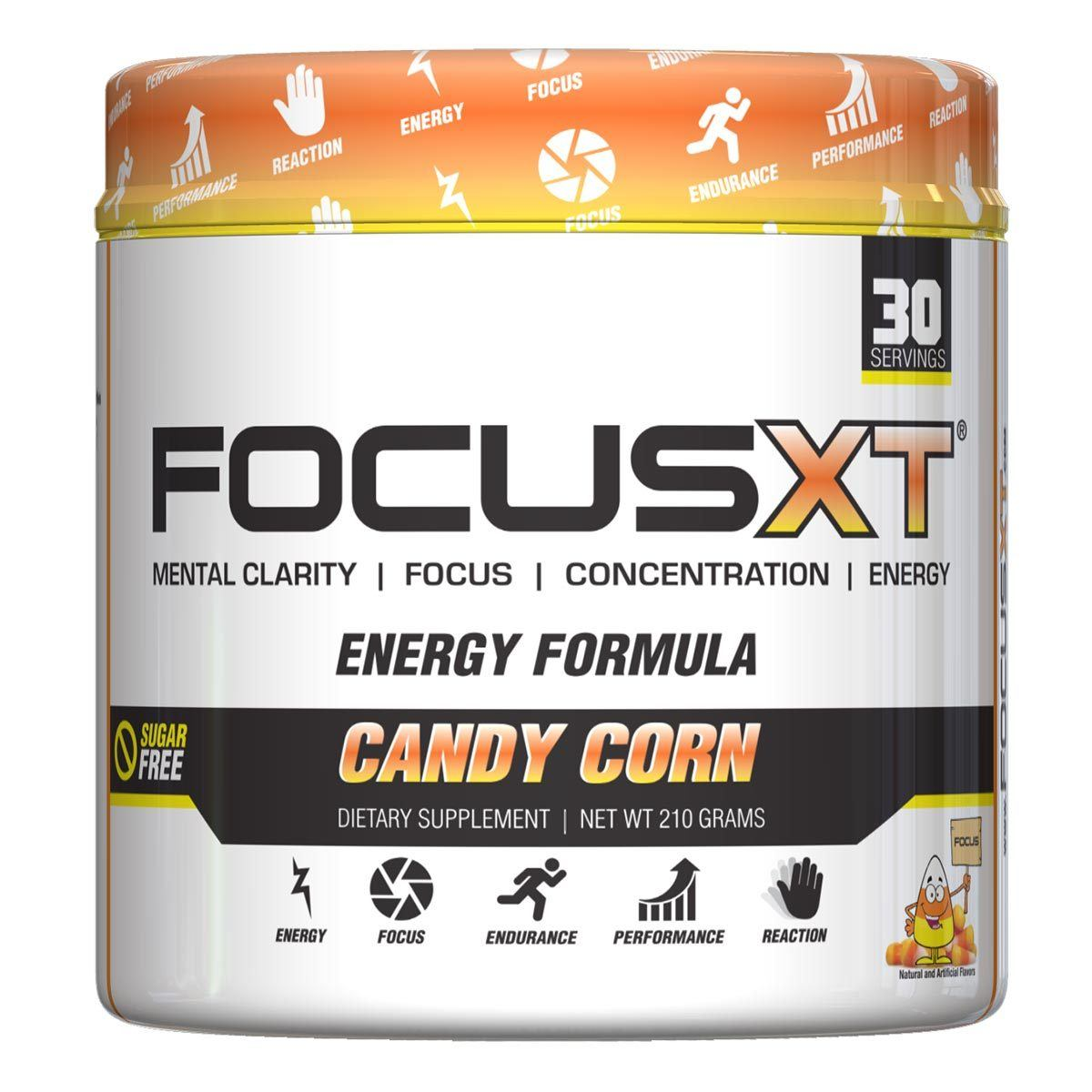 Serious Nutrition Solutions Focus XT 30 Servings Cognitive Serious Nutrition Solutions Candy Corn  (1058664415275)