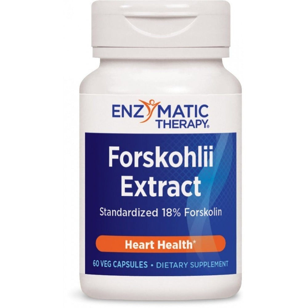 Enzymatic Therapy Forskohlin 100mg (18% Forskolin) 60 Capsules Herbs Enzymatic Therapy  (1057958461483)