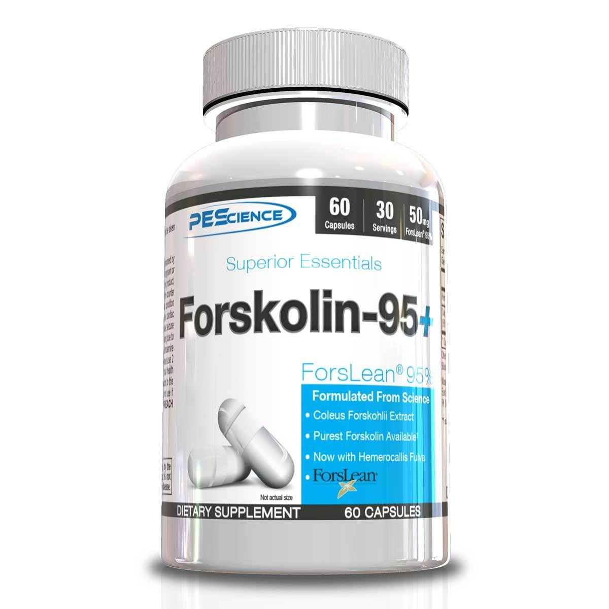 PEScience Forskolin-95+ 60 Caps Antioxidants / CoQ-10 PEScience  (1059196698667)