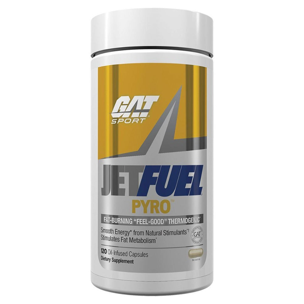 GAT JETFUEL PYRO OIL INFUSED 120C Fat Burner GAT  (1262415380523)