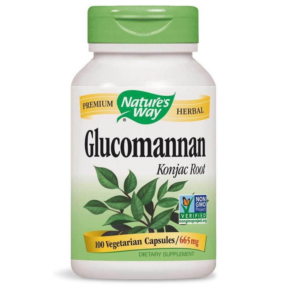 Nature's Way Glucomannan 100 Caps Herbs Nature's Way  (1057884536875)