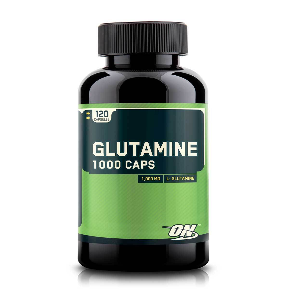 Optimum Nutrition Glutamine Caps 1000 120 caps Amino Acids Optimum Nutrition  (1057928478763)