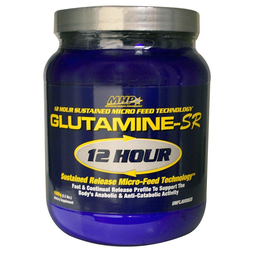 MHP Glutamine-SR 12 Hour Muscle Feeder 1000 Grams Amino Acids MHP  (1058045001771)