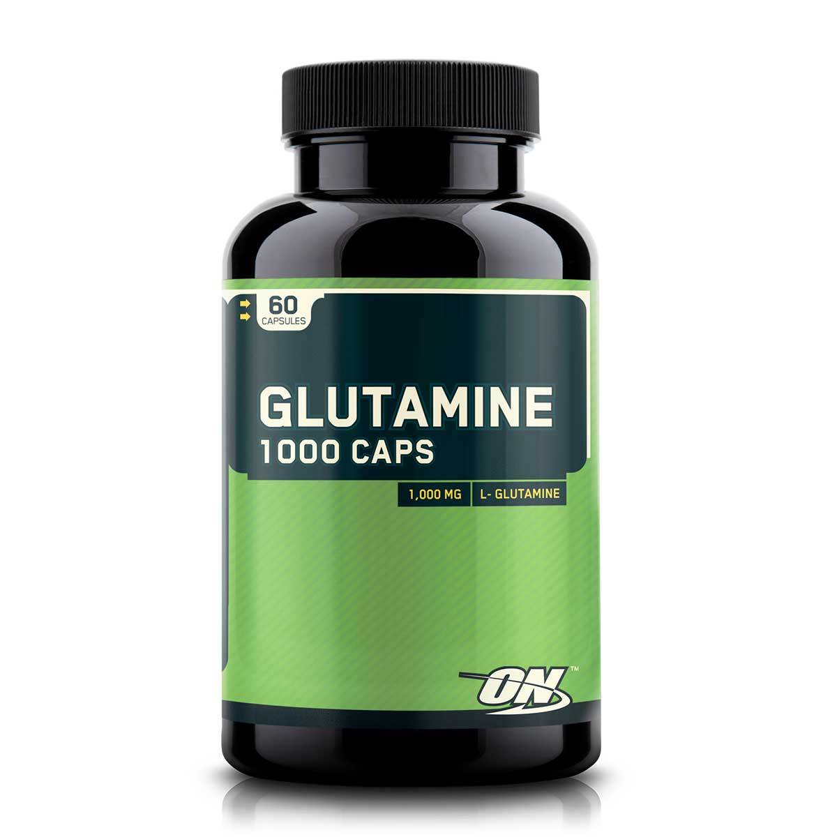 Optimum Nutrition Glutamine Caps 1000 60 caps Amino Acids Optimum Nutrition  (1057917206571)