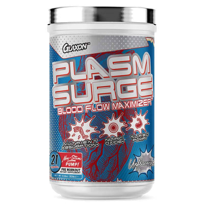Glaxon Plasm Surge 42 Servings Nitric Oxide Glaxon Unflavored