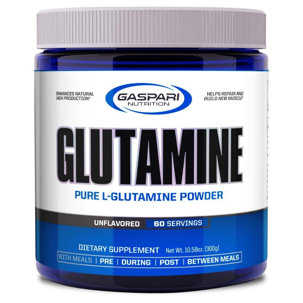 Gaspari Nutrition Glutamine 300 Grams Amino Acids Gaspari Nutrition  (1058750234667)