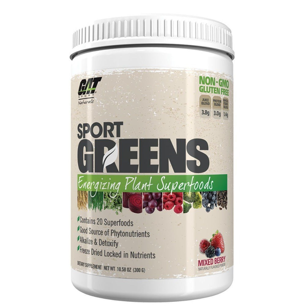 GAT SPORTS GREENS BERRY 30SV Specialty Health Products GAT  (1262415609899)