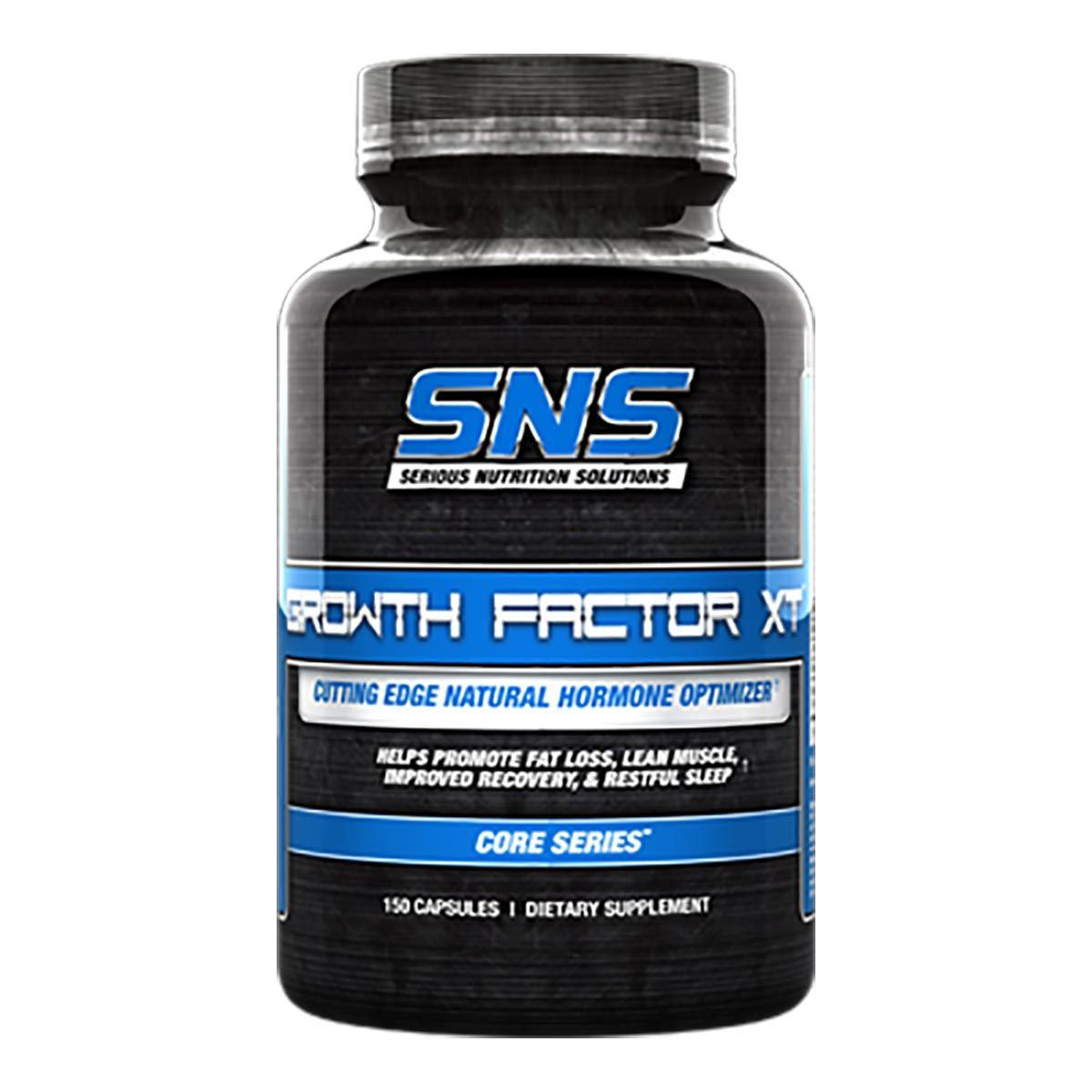 Serious Nutrition Solutions Growth Factor XT 150 Caps Sport Performance / Recovery Serious Nutrition Solutions  (1059043344427)