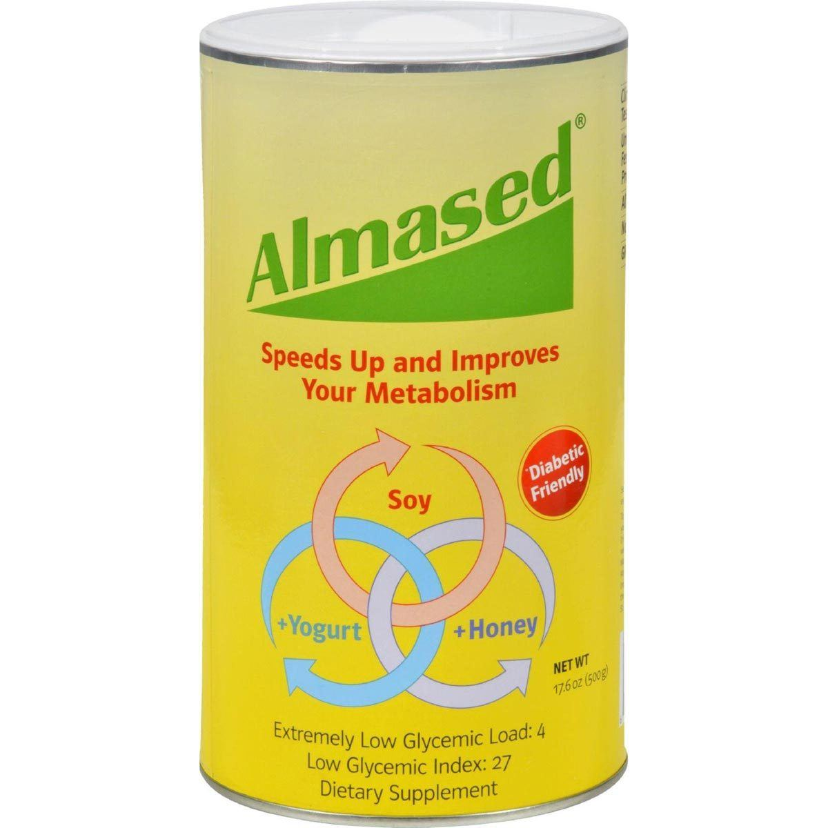 Almased Almased Synergy Diet 17.6 Oz Diet/Energy Almased  (1058822651947)