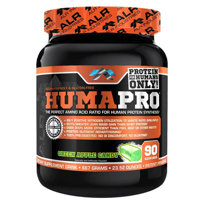 ALRI (ALR Industries) Humapro 90 Servings Amino Acids ALRI (ALR Industries) Green Apple  (1059273605163)