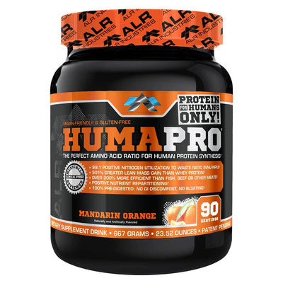 ALRI (ALR Industries) Humapro 90 Servings Amino Acids ALRI (ALR Industries) Orange  (1059273605163)