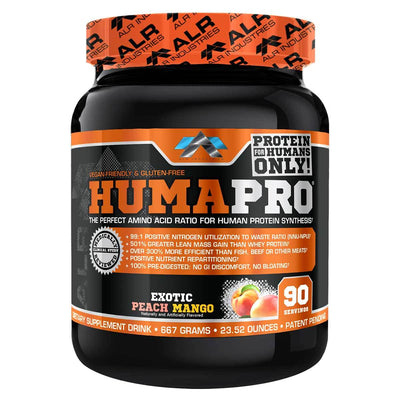 ALRI (ALR Industries) Humapro 90 Servings Amino Acids ALRI (ALR Industries) Peach Mango  (1059273605163)