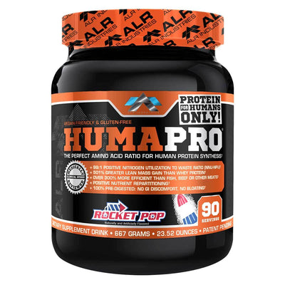 ALRI (ALR Industries) Humapro 90 Servings Amino Acids ALRI (ALR Industries) Rocket Pop  (1059273605163)