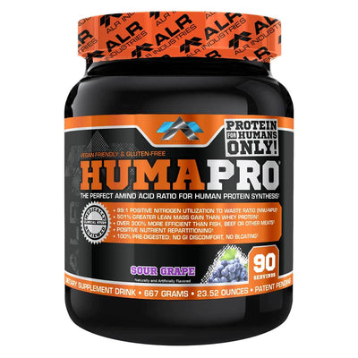 ALRI (ALR Industries) Humapro 90 Servings Amino Acids ALRI (ALR Industries) Grape  (1059273605163)