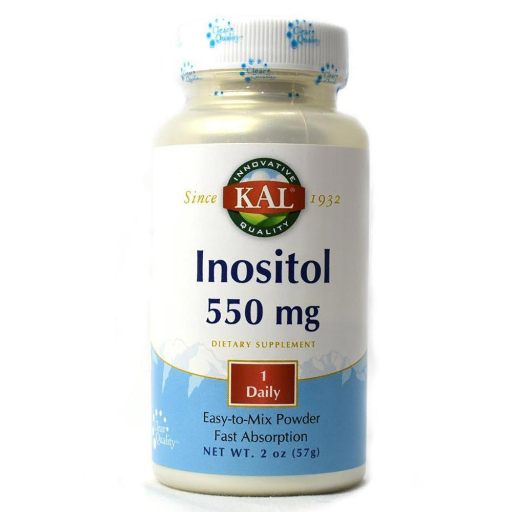 Kal Inositol Powder 550mg 2oz Vitamins Kal  (1057878868011)