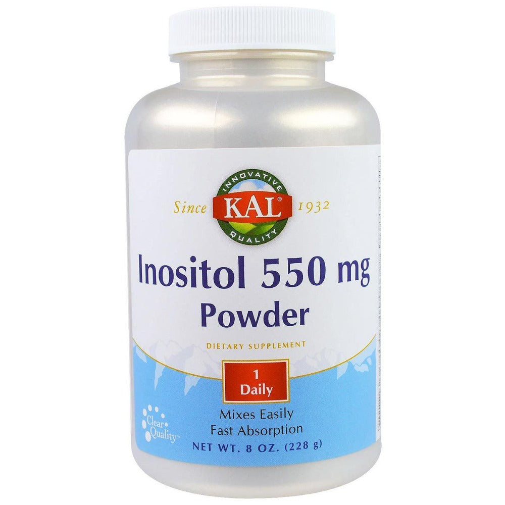 Kal Inositol Powder 550mg 8 oz Vitamins Kal  (1057982152747)