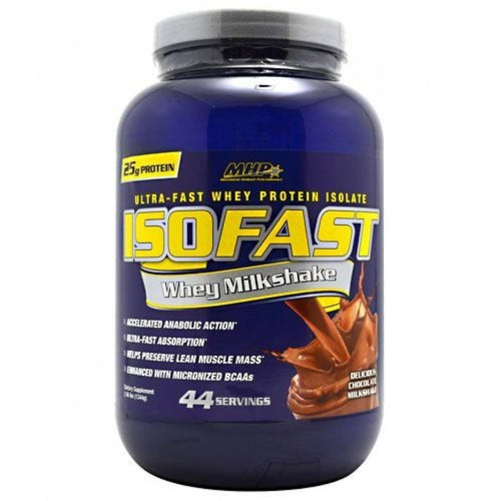 MHP IsoFast 44 Servings - 2.88 Lb Protein MHP  (1058937831467)
