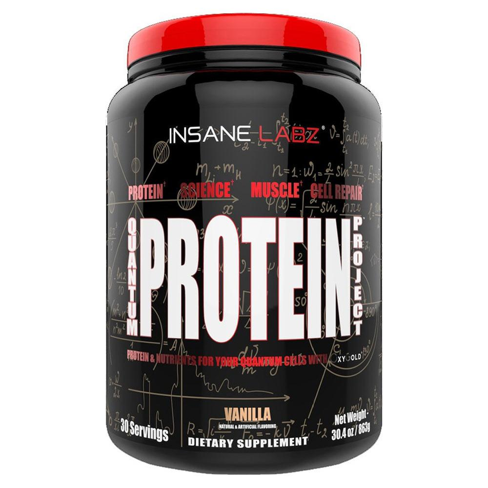 Insane Labz Quantum Protein Project 30 Servings Protein Powders Insane Labz Vanilla  (1723880538155)