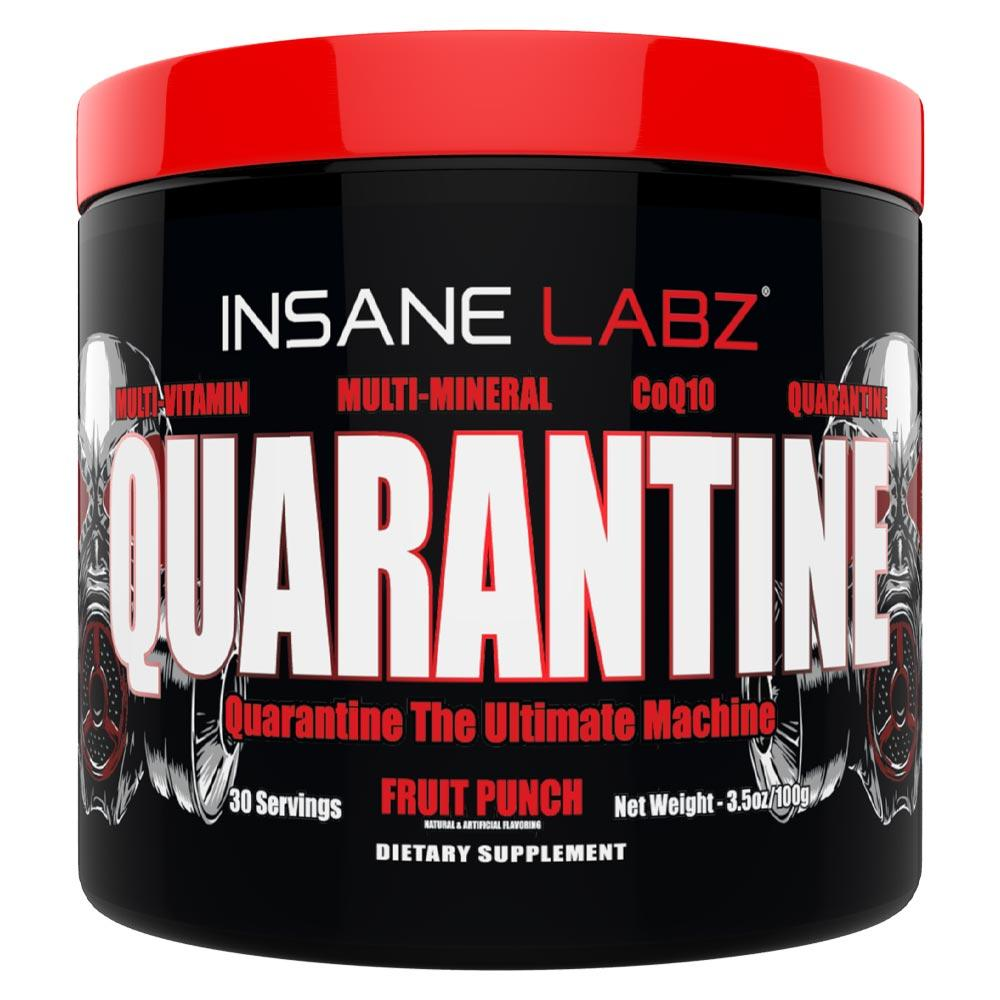 Insane Labz Quarantine 30 Servings | Multi-Vitamin | Immune Defense Vitamins & Minerals Insane Labz Fruit Punch  (1751302701099)