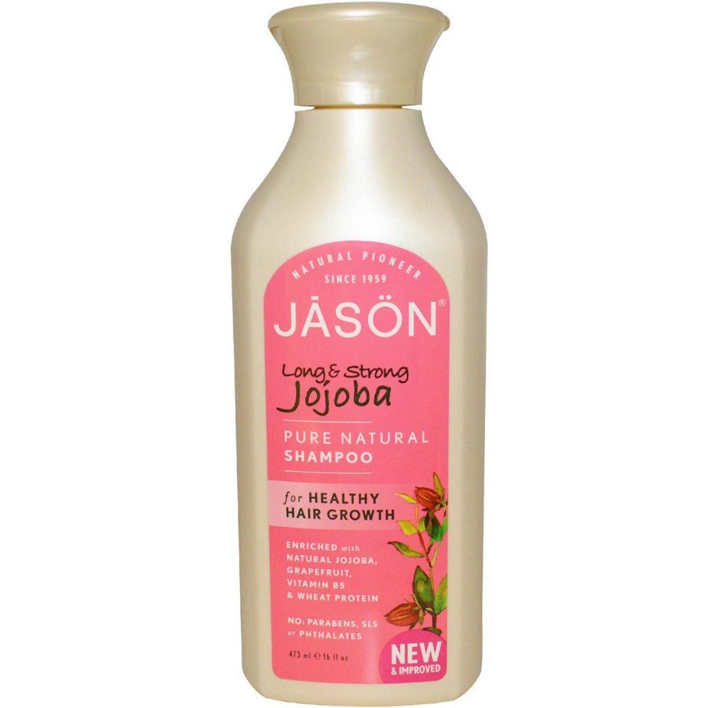 Jason Jojoba Shampoo 16 oz Personal Care Jason  (1057906884651)