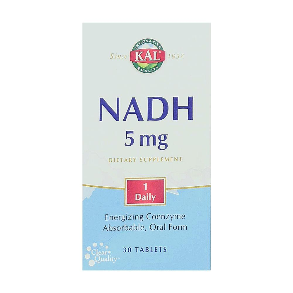 KAL NADH 5mg 30 Tabs Specialty Health Products Kal  (1790517411883)