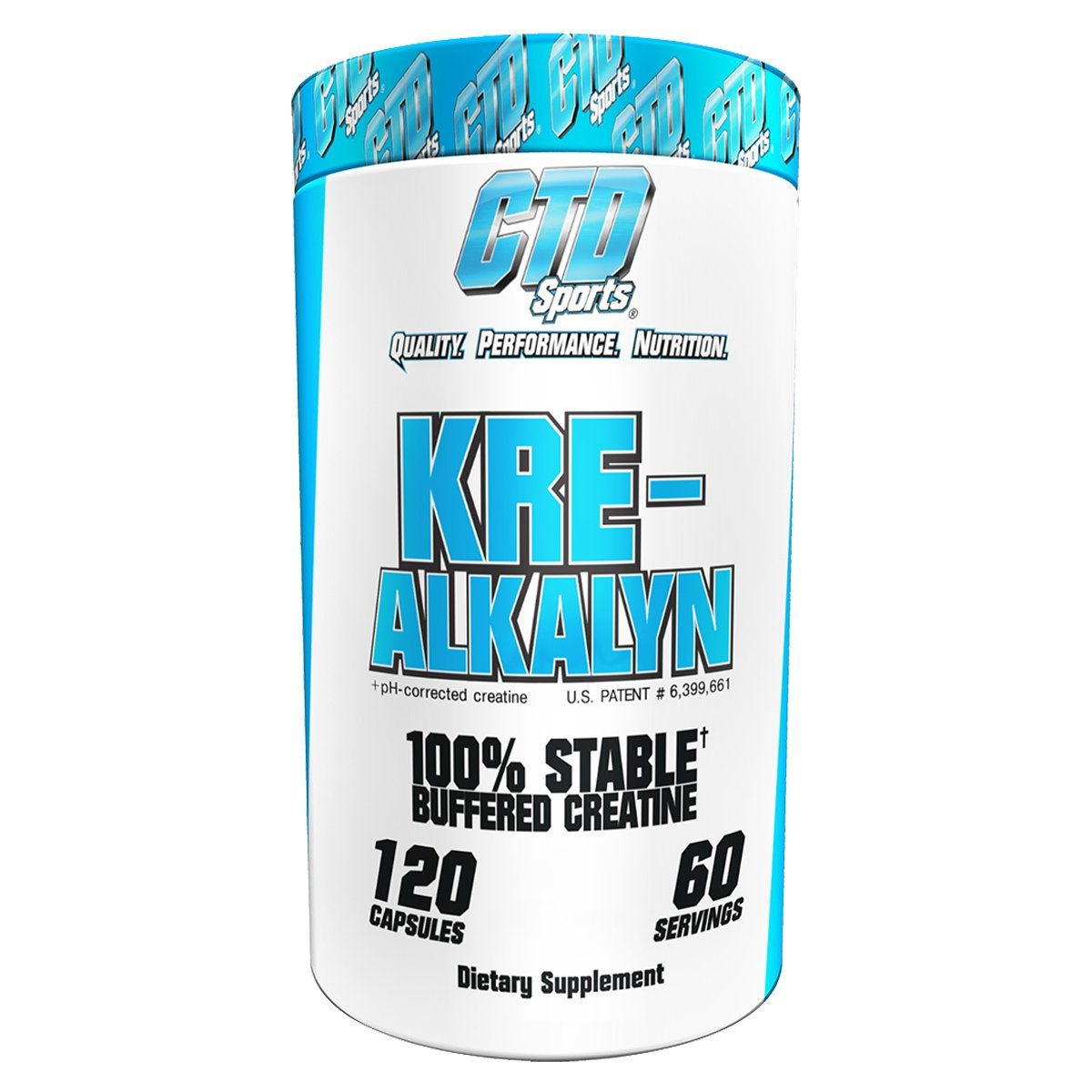CTD Labs Kre-Alkalyn 120 Caps Creatine CTD Labs  (1058750365739)
