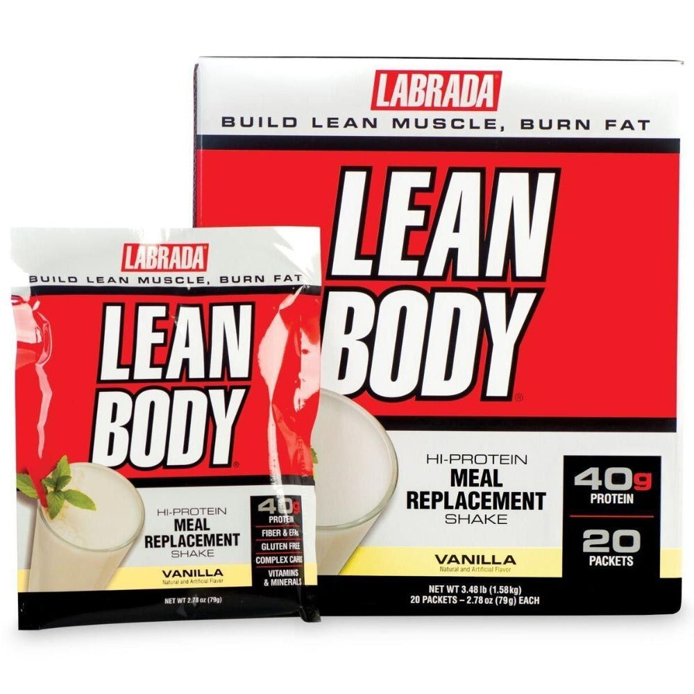Labrada Nutrition Lean Body Original MRP 20 Pack Protein Labrada Nutrition  (1057911472171)