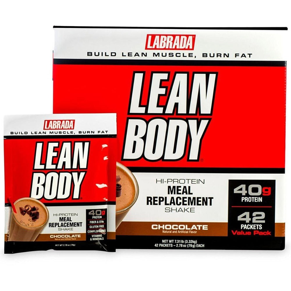 Labrada Nutrition Lean Body Original MRP 42 Pack Protein Labrada Nutrition Chocolate Ice Cream  (1058069151787)