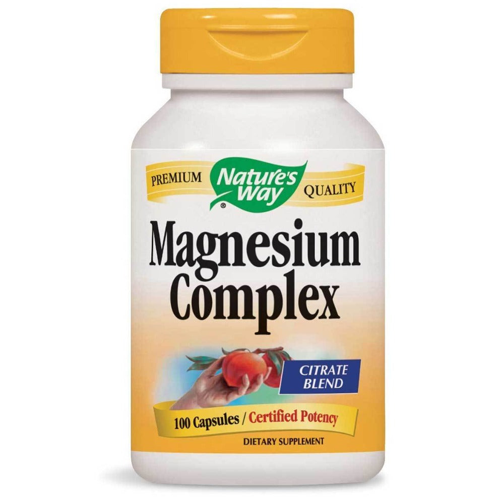 Nature's Way Magnesium Complex 250mg 100 Caps Minerals Nature's Way  (1058837364779)