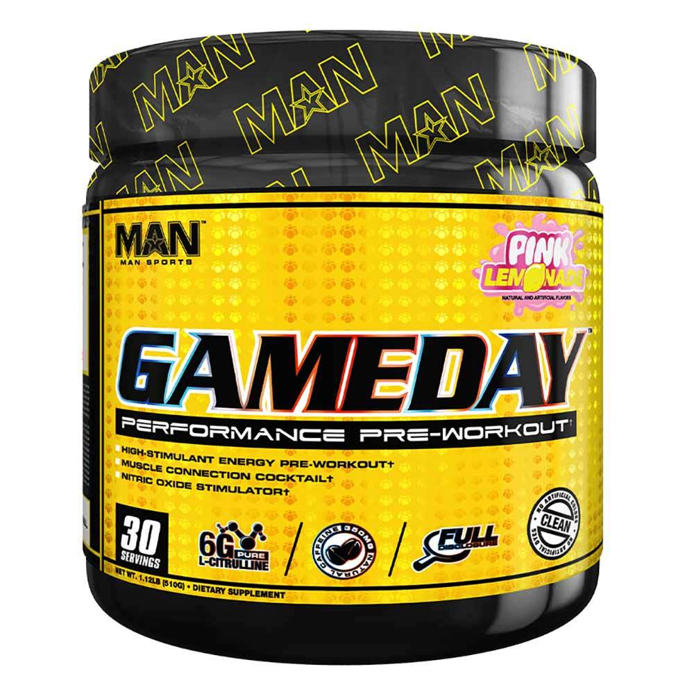 MAN Game Day 30 Servings | Pre-Workout | New Formula Pre-workout MAN  (1058838872107)